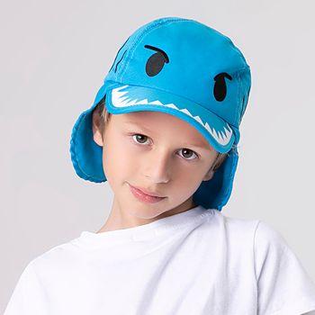 Boné com Proteção Solar UV Legionário Tubarão UV.LINE