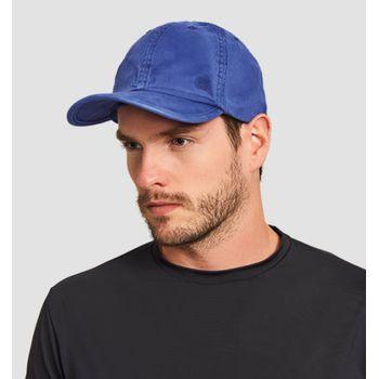 Boné com Proteção Solar UV Sarja UV.LINE - Azul