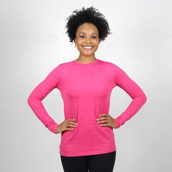 Camiseta com Proteção Solar UV Flex Pro UV.LINE - Pink