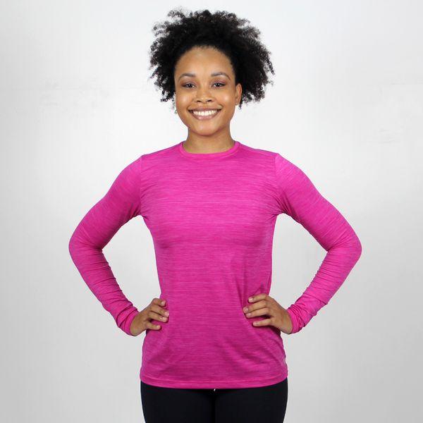 Camiseta com Proteção Solar UV Flex Pro UV.LINE - Rosa