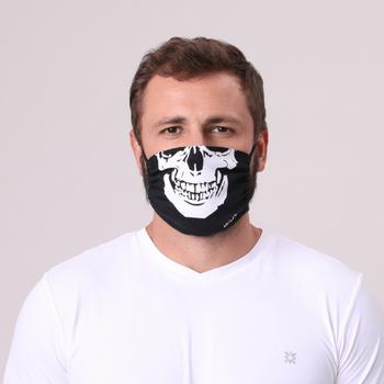 Mascara para Proteção Algodão Caveira UV.LINE
