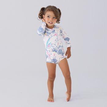 Maiô Baby com Proteção Solar UV Cacatua UV.LINE