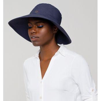 Chapéu com Proteção Solar UV San Diego UV.LINE - Marinho