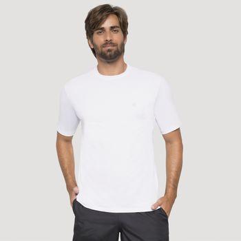 Camiseta com Proteção Solar UVPRO UV.LINE - Branco