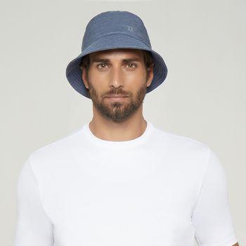 Chapéu com Proteção Solar UV Toronto UV.LINE - Índigo