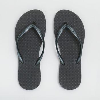 Chinelo Green Flip Flops Feminino - Chumbo