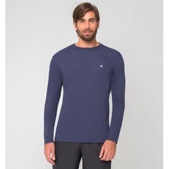 Camiseta com Proteção Solar UV.LINE - UVPRO - Azul Noite