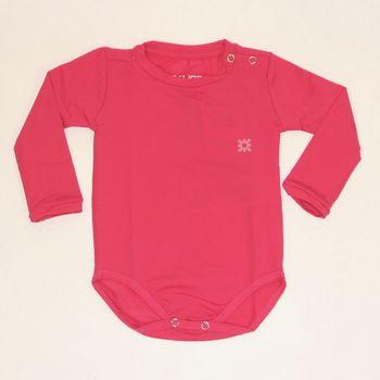 Maiô Baby com Proteção Solar UV.LINE - Pink