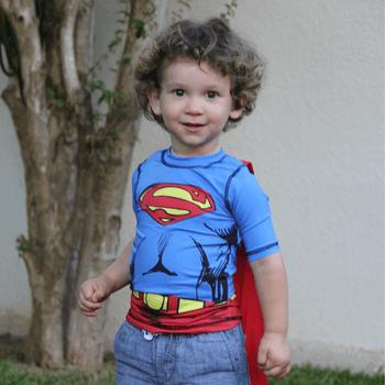 Camiseta com Proteção Solar UV.LINE Superman