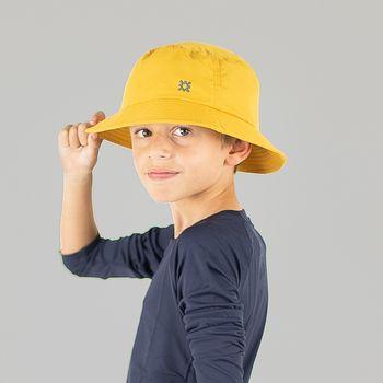 Basic Kids Chapéu Infantil Com Proteção Solar UVLINE Mostarda