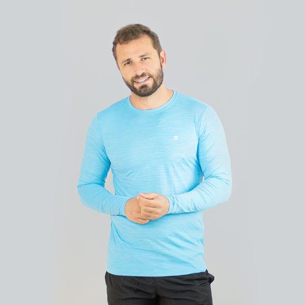 Flex PRO Camiseta com proteção solar UV.LINE Azul