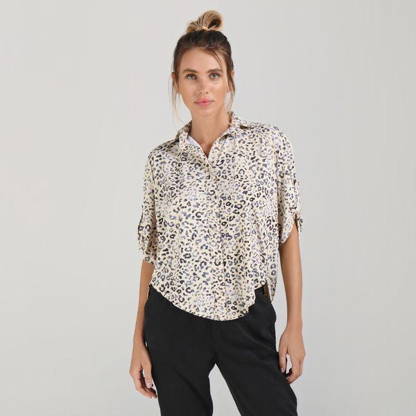 Camisa Com Proteção Solar UV.LINE Animal Print
