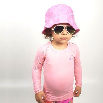 Napoli Chapéu Baby com Proteção Solar UV.LINE Rosa