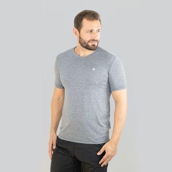 Sport Fit  Camiseta com Proteção Solar Mescla UV.LINE Mescla