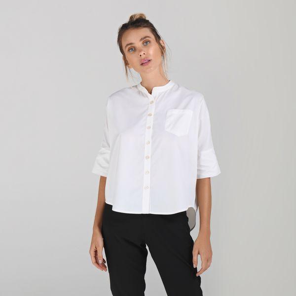 Camisa Basic Com Proteção Solar UV.LINE Branco