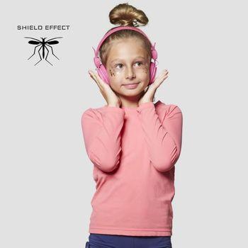 Camiseta Repelente com Proteção Solar UV.LINE Rosa Gloss