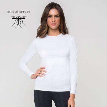 Camiseta Repelente com Proteção Solar UV.LINE Branco