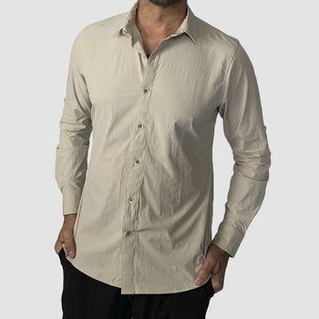Camisa Nepal com Proteção Solar UV.LINE Areia