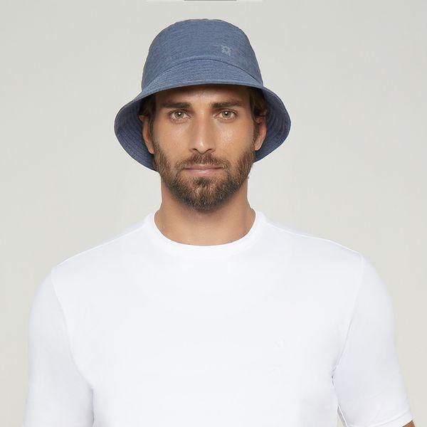 Chapéu Toronto Colors Com Proteção Solar UV.LINE Índigo Mescla