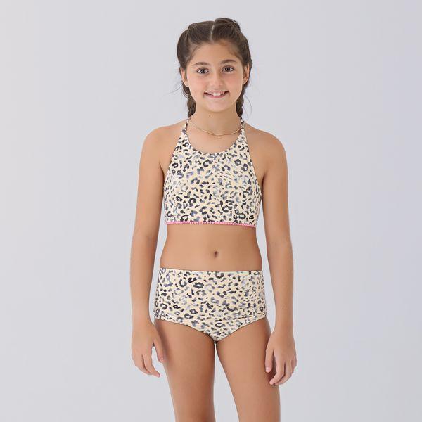 Trikini Com Proteção Solar UV.LINE Estampa Animal Print