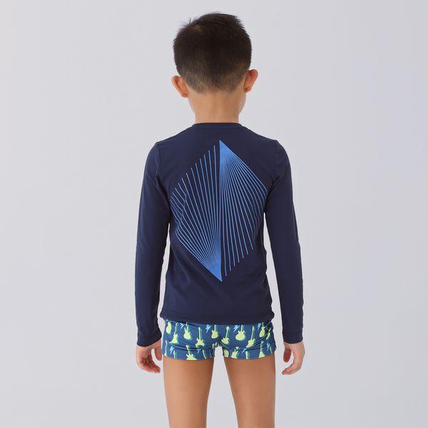 Camiseta Fit Sports Infantil com Proteção Solar UV.LINE
