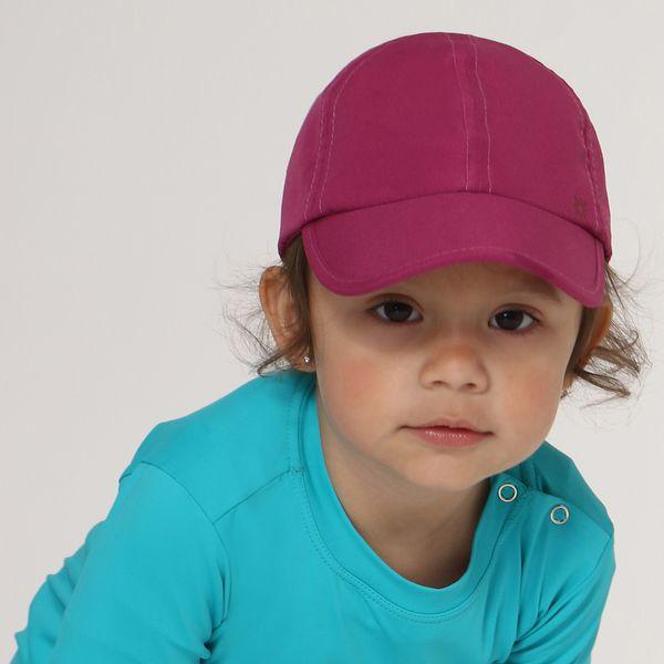 Boné Baby Colors com Proteção Solar UV.LINE Magenta