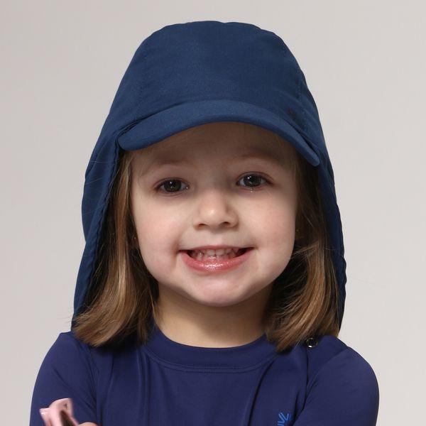 Boné Legionário Infantil com Proteção Solar UV.LINE Marinho