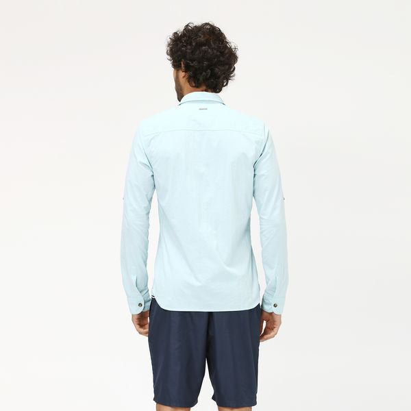 Georgia Camisa com Proteção Solar UV.LINE Azul Claro
