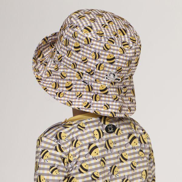 Chapéu Napoli Com Proteção Solar UV.LINE Estampa Abelha