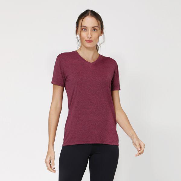 Camiseta com Proteção Solar UV Sport Fit UV.LINE - Rosa