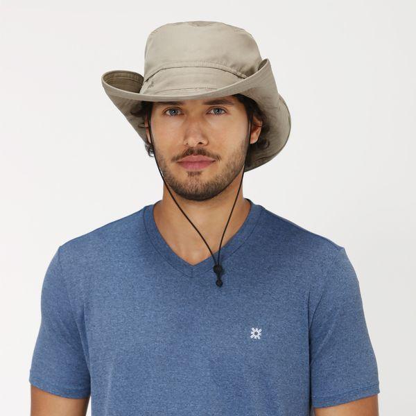 Chapéu Safari Com Proteção Solar UV.LINE Kaki