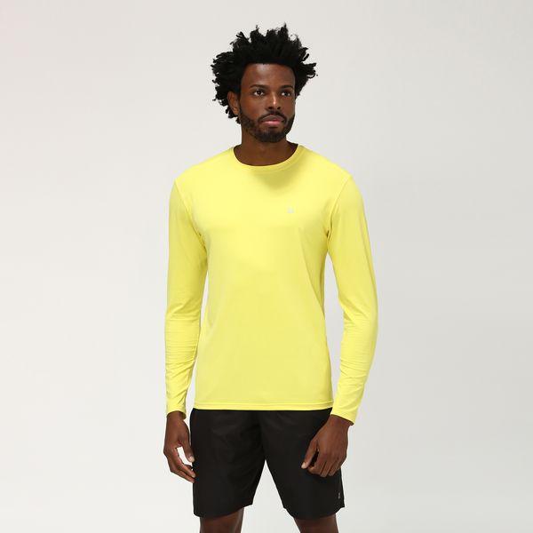 Camiseta UVPRO Com Proteção Solar UV.LINE Amarelo