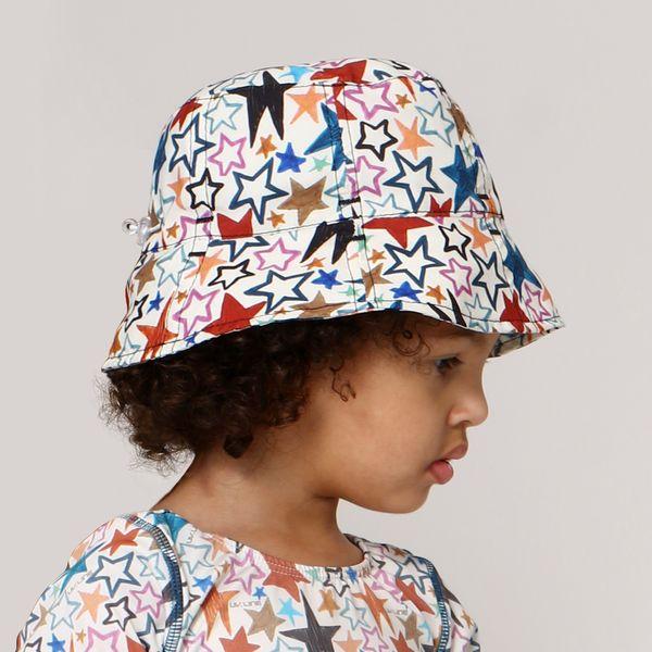 Chapéu Napoli Com Proteção Solar UV.LINE Estampa Estrela